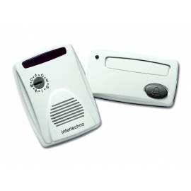 Радио звънец, мигащ сигнал, бутон, IP65