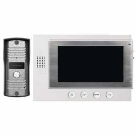 Видеодомофон H2011, бял монитор