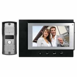 Видеодомофон H2012, черен монитор