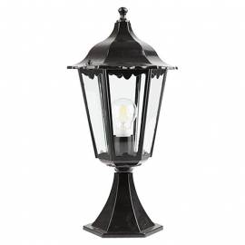 Градинска лампа, черна, 60 W