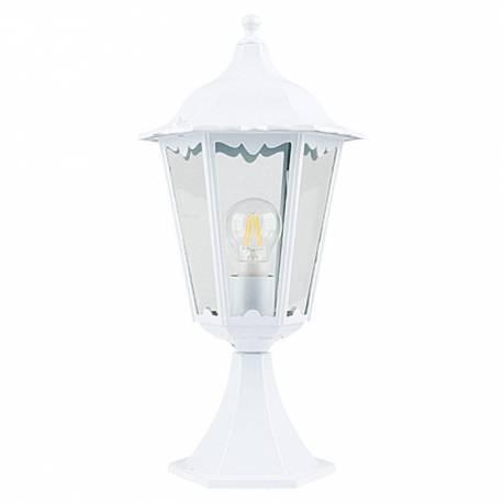 Градинска лампа, бяла, 60 W