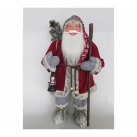 Дядо Коледа - 61см, с фенер