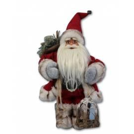 Дядо Коледа - 46 см, червен