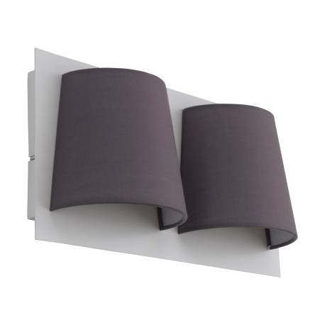 Аплик LED 2x5,4W 820lm бяло/сив SERRAVALLE