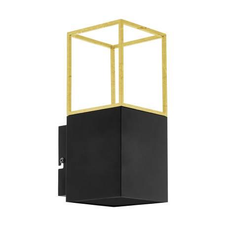 Аплик LED 1xGU10 5W черно/златно MONTEBALDO