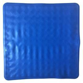 Постелка за душ, 55х54 см, синя