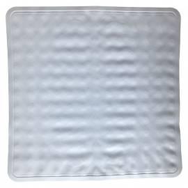 Постелка за душ, 55х54 см, бяла