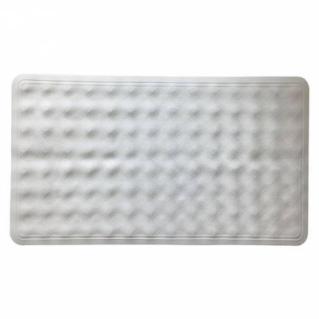 Постелка за вана, 69х40 см, бяла