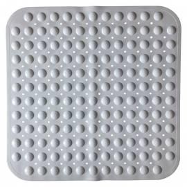 Постелка за душ Bubble, 54х54 см, бяла