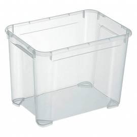 Кутия за съхранение Regalux Clear S, прозрачна, 20 л
