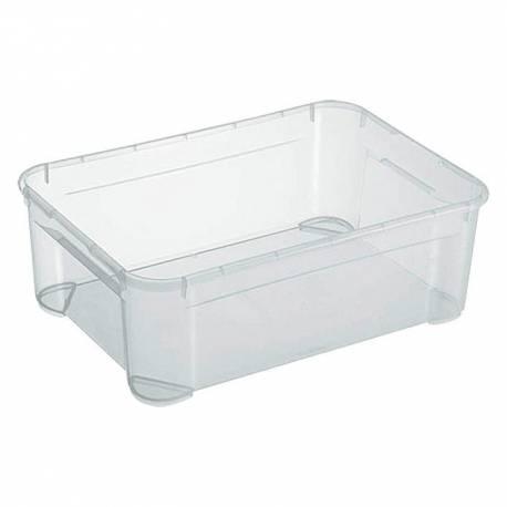 Кутия за съхранение Regalux Clear M, прозрачна, 31 л