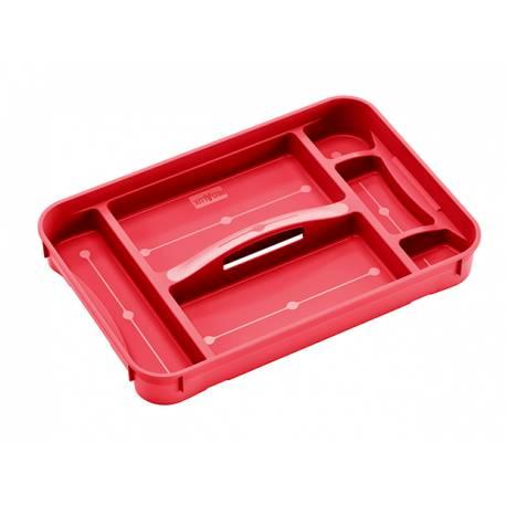 Кутия за съхранение Regalux Clear M/ XL 54, червен
