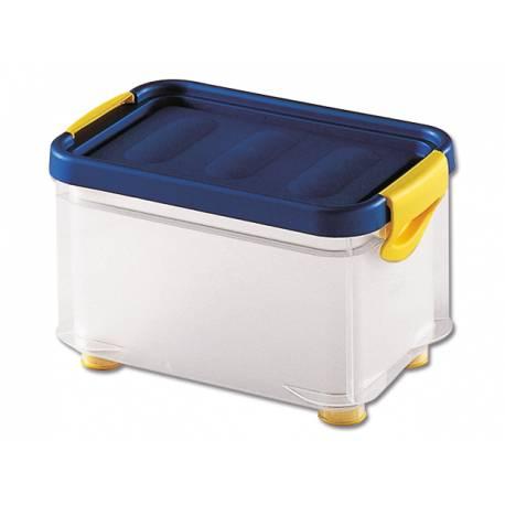Кутия за съхранение Clipper S, с капак, прозрачна, 6 л