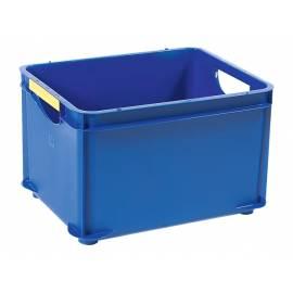 Кутия за съхранение Combi, за подреждане една върху друга, синя, 20 л