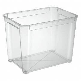 Кутия за съхранение Regalux Clear XL, прозрачна, 70 л