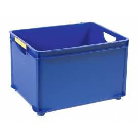 Кутия за съхранение Combi, за подреждане една върху друга, синя, 30 л