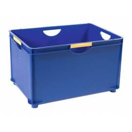 Кутия за съхранение Combi, за подреждане една върху друга, синя, 55 л
