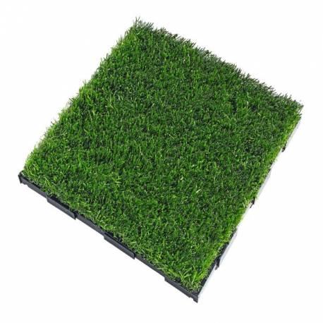 Плочки - изкуствена трева -с клик система
