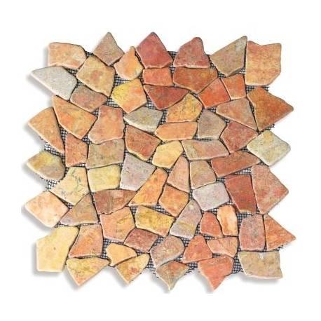 Мозайка естествен камък (пано мрежа) 30 x 30
