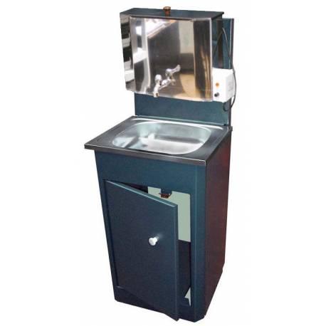 Умивалник за вила с пластмасов резервоар и неръждаема мивка