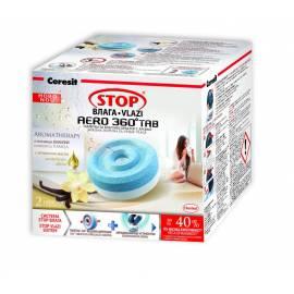 Таблетки за влагоабсорбатор Stop Aero, 2х450 г, ванилия