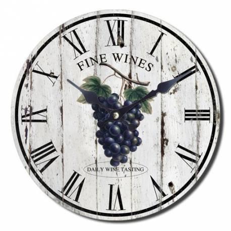 Стенен часовник Ретро 30 см - грозде
