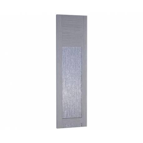 Ламел за сгъваеми врати, остъклен, ясен, 14х205 см