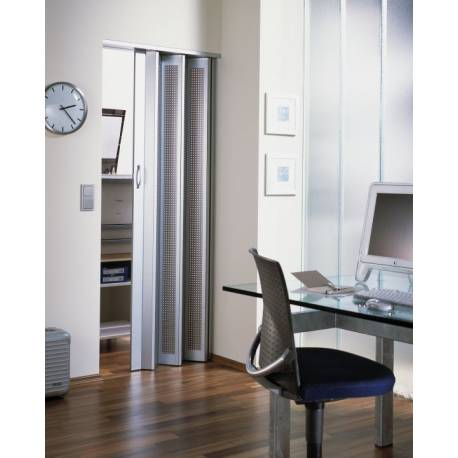 Сгъваема врата, 86х205 см, алуминий