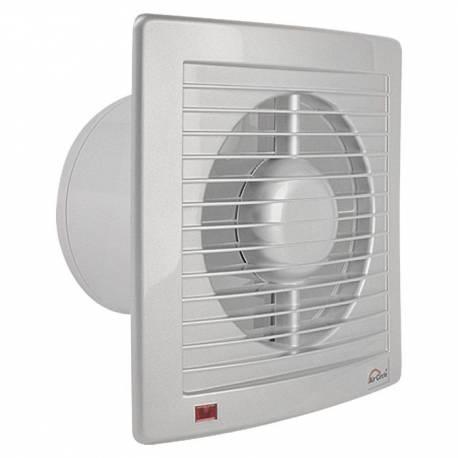 Вентилатор, Ø125 мм, сив, IPX4