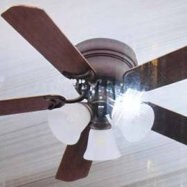 Таванен вентилатор Гренада - 106 см, 5 перки, осветление