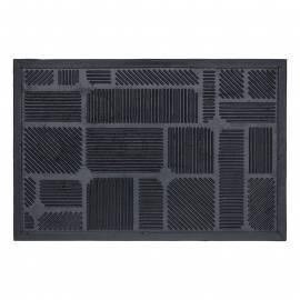 Изтривалка, 45х75 см, черна