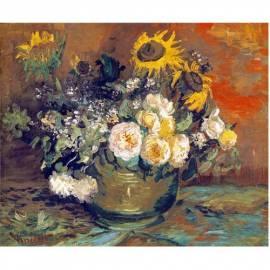 Картина Bowl - Vincent Van Gogh, 40x50 см