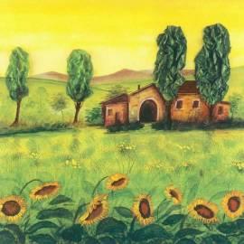 Imagén: Картина Fattoria Emiliana - Gianola, 30x30 см