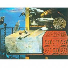 Imagén: Картина шагрен Natura morta vivente 1956 - Salvador Dali - 19x23,5 см