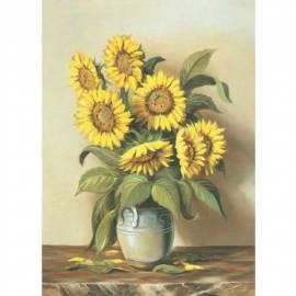 Imagén: Картина Vaso di girasoli - Cajati, 35x50 см