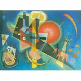 Картина В синьо - Wassily Kandinsky, 18,5x26 см