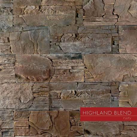 Highland Blend - Rusty - декоративен облицовъчен камък
