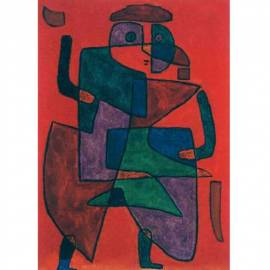 Картина Der Kunftige - Paul Klee, 54,5x70,5 см