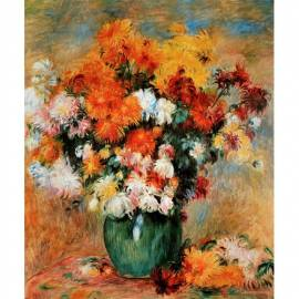 Картина Chrysanthemes - Pierre-Auguste Renoir, 40x50 см