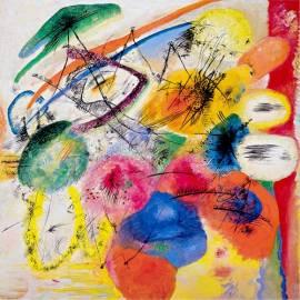 Картина Black Lines - Wassily Kandinsky, 40x40 см