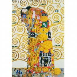 Картина L'abbraccio - Gustav Klimt, 32x97 см