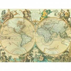 Картина Mappamondo, 36x49 см