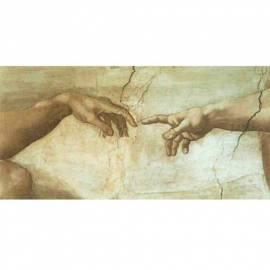 Картина Creazione d'Adamo - Michelangelo, 35x50 см