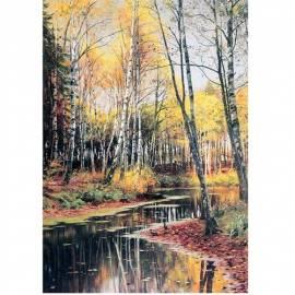 Картина Autumn - Peder Monsted, 35x50 см