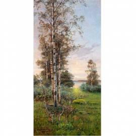 Imagén: Картина Summer Night on Aland - Edvard Westman, 25x50 см