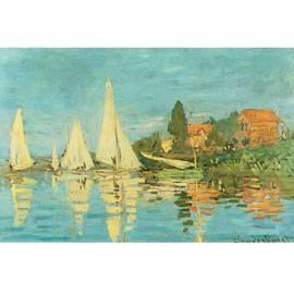 Imagén: Картина Regata a Argenteuil - Claude Monet, 16,5x26 см