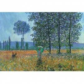 Картина Felder im Fruehling - Claude Monet, 50x70 см