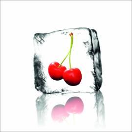 Рамкирана картина Лед с череши, 40х40 см