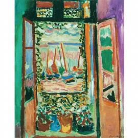 Imagén: Картина la finestra - Henri Matisse, 20x24 см
