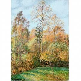 Картина Peupliers Forest - Camilie Pissarro, 50x70 см